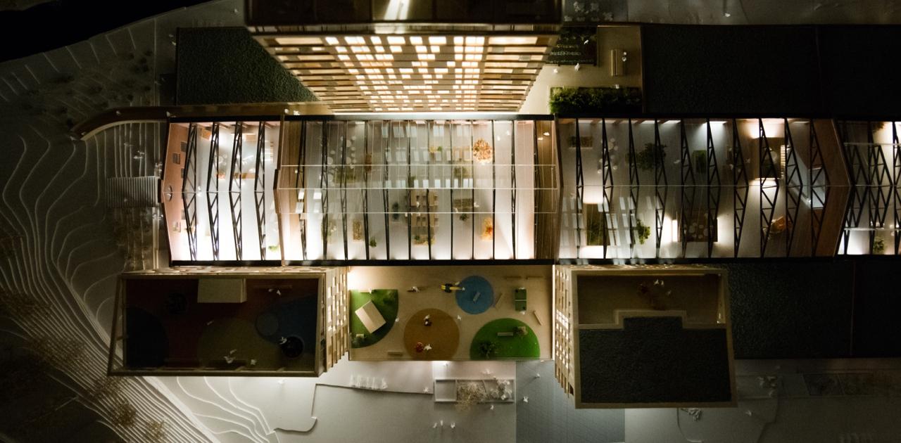 Arkitektmodell - i love Nydalen