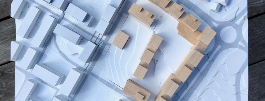 Arkitektmodell - Sinsenveien