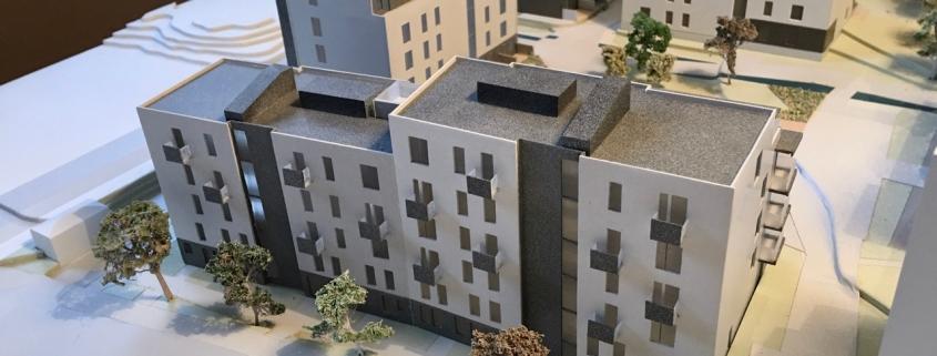 Arkitektmodell - Lunden 25