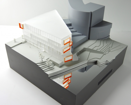 Modellbilde - Torgbygget Nydalen