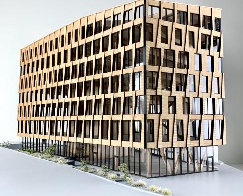 Valle Wood - arkitekturmodell