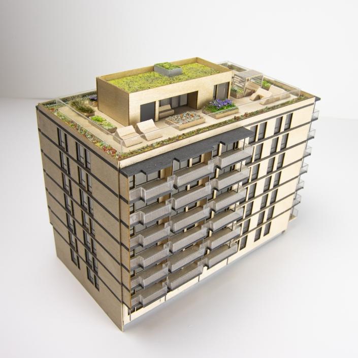 Modell - Borgen Løren